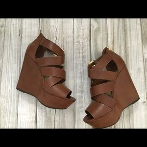 SODA wedges size 6.5. Worn once